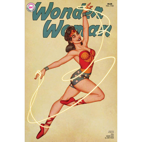 WONDER WOMAN 750 1950S VAR ED