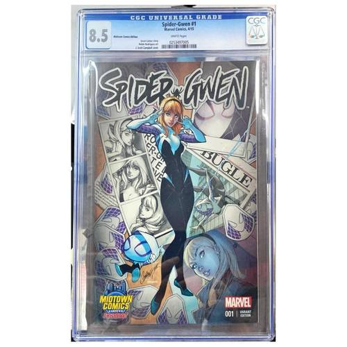SPIDER-GWEN #1 MIDTOWN VARIANT CGC 8.5