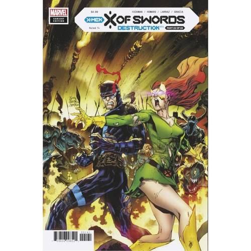 X OF SWORDS DESTRUCTION #1 1:50 STEGMAN VARIANT