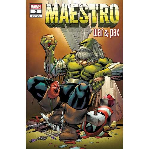 MAESTRO WAR AND PAX #2 (OF 5) PACHECO VAR