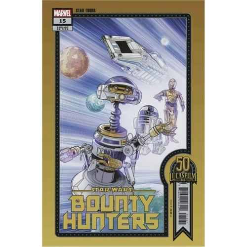 STAR WARS BOUNTY HUNTERS #15 SPROUSE LUCASFILM 50TH VAR WOBH