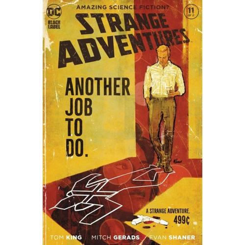 STRANGE ADVENTURES #11 (OF 12) CVR A MITCH GERADS (MR)