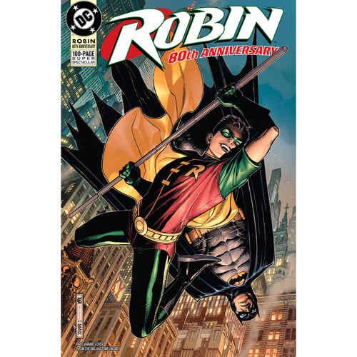 ROBIN 80TH ANNIV 100 PAGE SUPER SPECT 1 1990S JIM CHEUNG VA