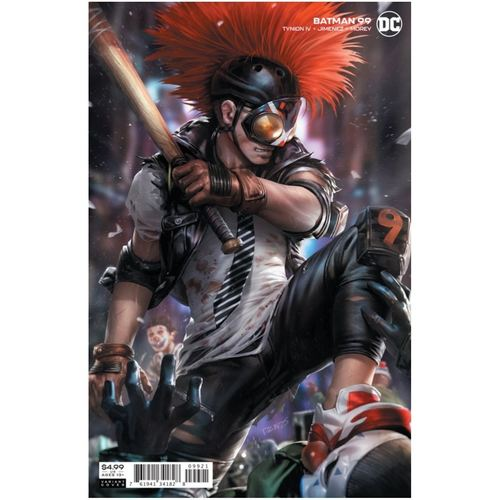 BATMAN #99 CVR B DERRICK CHEW CARD STOCK VAR (JOKER WAR)
