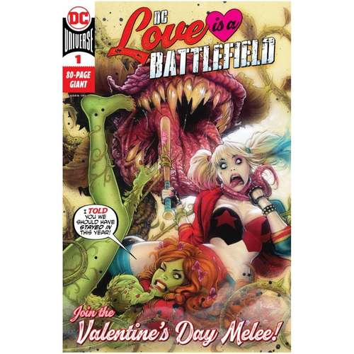 DC LOVE IS A BATTLEFIELD #1 (ONE SHOT)