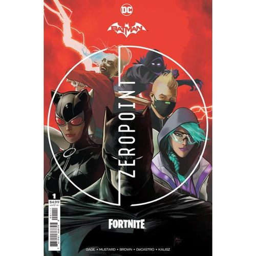 BATMAN FORTNITE ZERO POINT #1 MIKEL JANÌN
