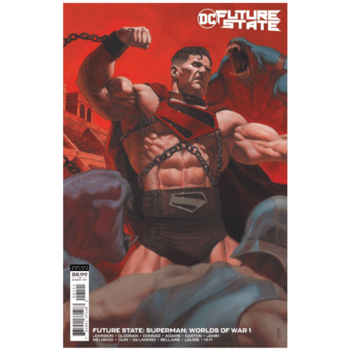 FUTURE STATE SUPERMAN WORLDS OF WAR #1 (OF 2) CVR B RICCARDO FEDERICI CARD STOCK VAR