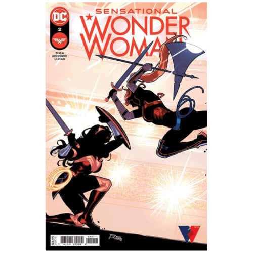 SENSATIONAL WONDER WOMAN #2 CVR A BRUNO REDONDO