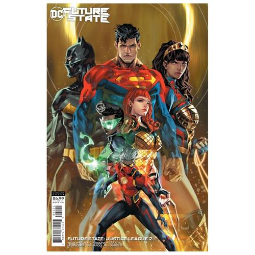 FUTURE STATE JUSTICE LEAGUE #2 (OF 2) CVR B KAEL NGU CARD STOCK VAR