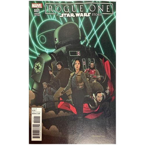 STAR WARS ROGUE ONE #1 (MARVEL 2017) QUINONES VARIANT 1:10