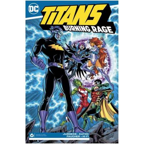 TITANS BURNING RAGE 6 OF 7