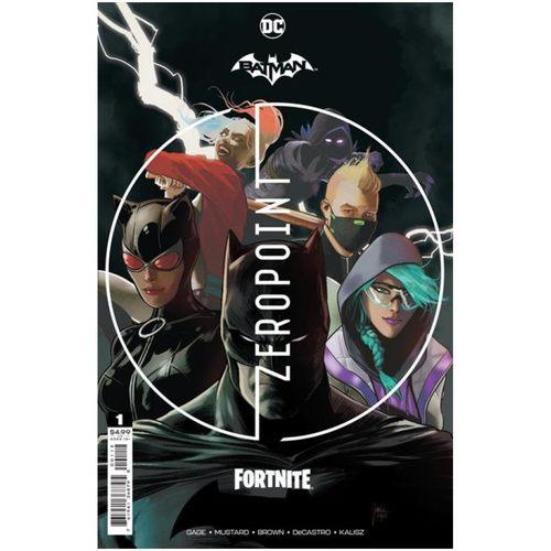 BATMAN FORTNITE ZERO POINT #1 Second Printing