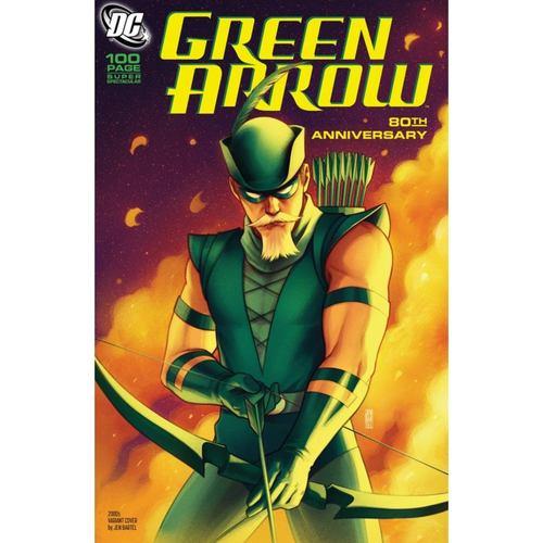 GREEN ARROW 80TH ANNIVERSARY 100-PAGE SUPER SPECTACULAR #1 CVR H JEN BARTEL 2000S VAR