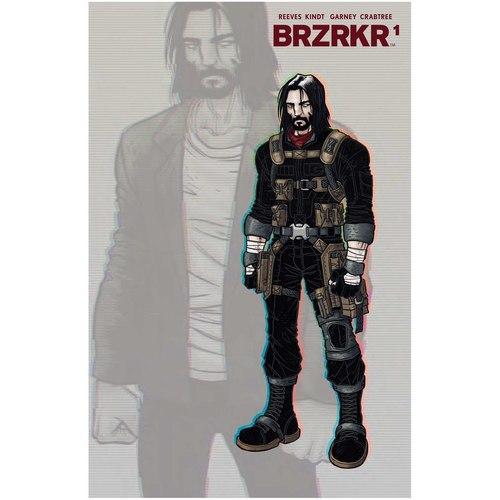 BRZRKR (BERZERKER) #1 4TH PTG FOIL GRAMPA