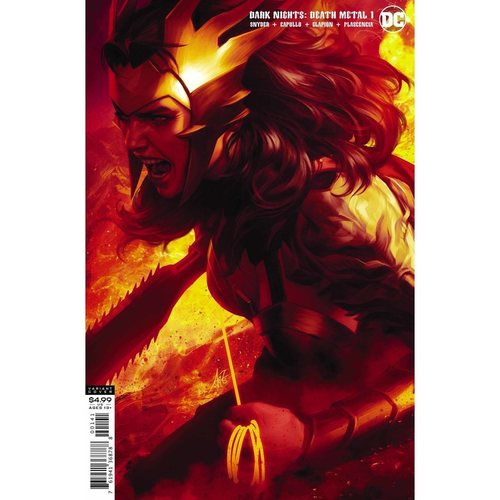 DARK NIGHTS DEATH METAL #1 (OF 6) STANLEY LAU WONDER WOMAN V