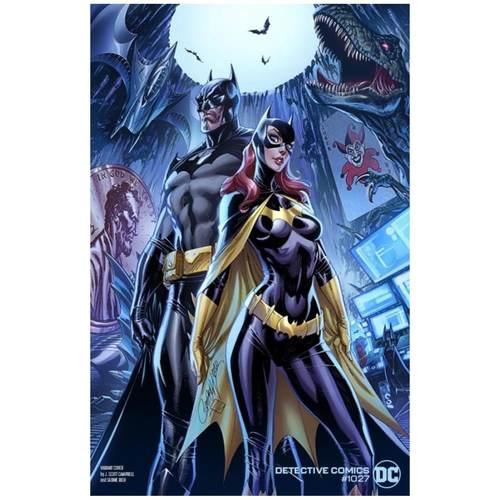 DETECTIVE COMICS #1027 CVR C J SCOTT CAMPBELL BATMAN BATGIRL VAR