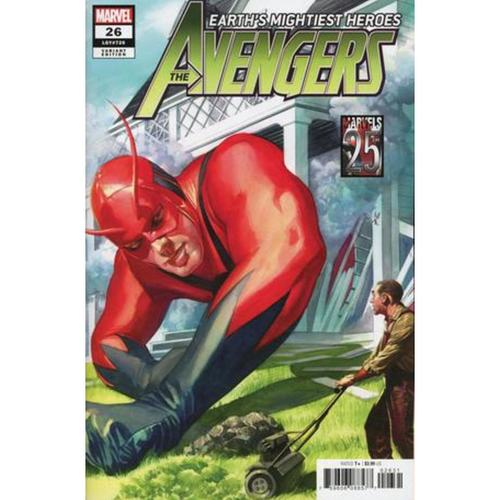 AVENGERS 26 ALEX ROSS MARVELS 25TH VAR