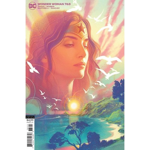 WONDER WOMAN #763 CVR B JOSHUA MIDDLETON CARD STOCK VAR