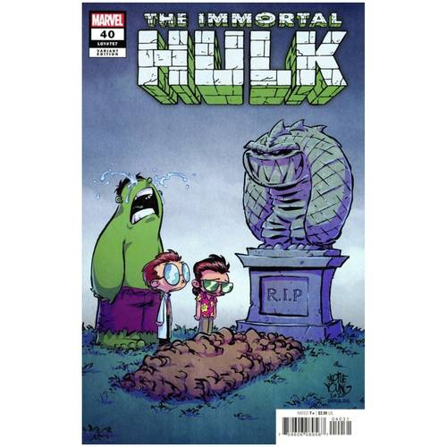 IMMORTAL HULK 40 YOUNG SPOILER VAR