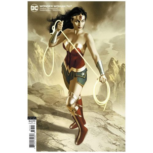 WONDER WOMAN #767 CVR B JOSHUA MIDDLETON CARD STOCK VAR