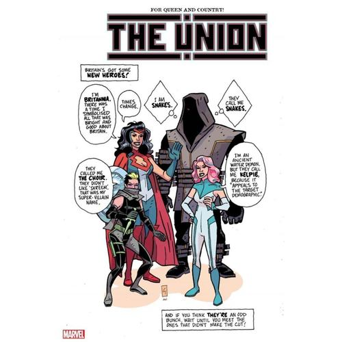 THE UNION #1 (OF 5) GRIST VAR KIB