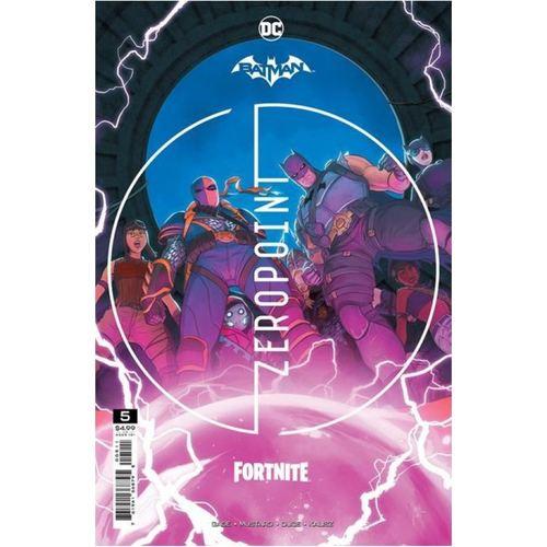 BATMAN FORTNITE ZERO POINT #5 (OF 6) CVR A  MIKEL JANN