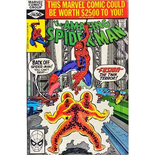 AMAZING SPIDER-MAN 208 NM