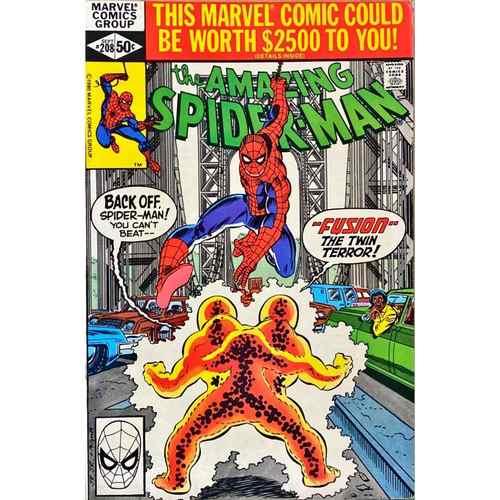 AMAZING SPIDER-MAN 208 NM