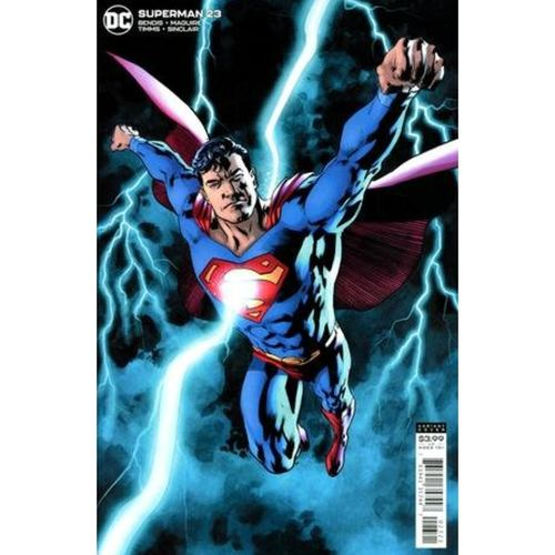 SUPERMAN #23 CVR B BRYAN HITCH VAR