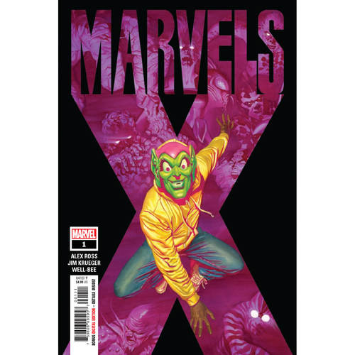 MARVELS X 1 OF 6