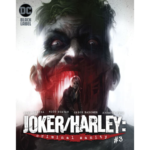 JOKER HARLEY CRIMINAL SANITY 3 OF 9 RES MR