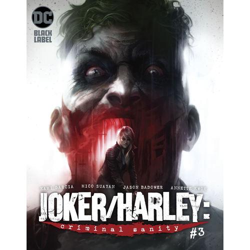 JOKER HARLEY CRIMINAL SANITY 3 OF 9 RES MR
