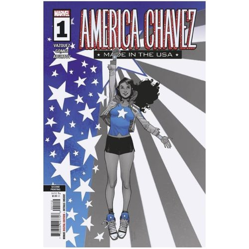 AMERICA CHAVEZ MADE IN USA #1 (OF 5) 2ND PTG PICHELLI VAR