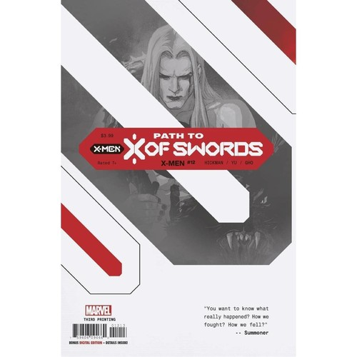X-MEN #12 3RD PTG VAR EMP XOSP
