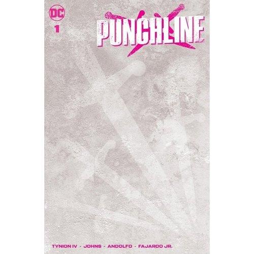 PUNCHLINE SPECIAL #1 (ONE SHOT) CVR C BLANK VAR