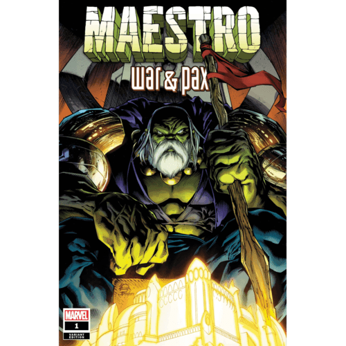 MAESTRO WAR AND PAX #1 (OF 5) STEGMAN VAR