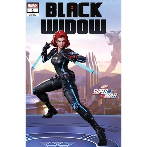 BLACK WIDOW #1 MARVEL SUPER WAR VAR