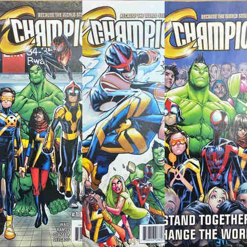 CHAMPIONS #1 - #3 SET