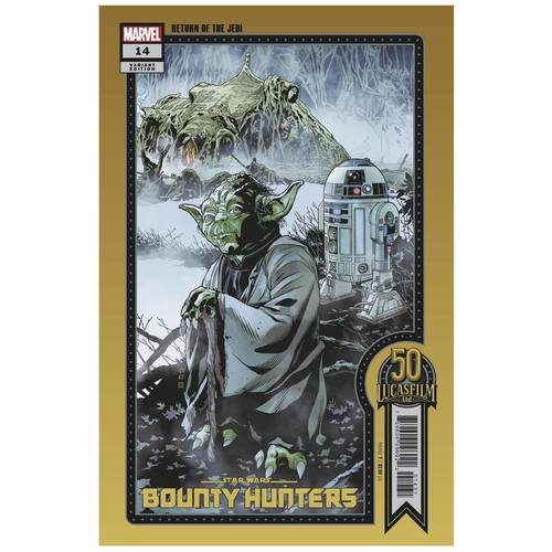 STAR WARS BOUNTY HUNTERS #14 SPROUSE LUCASFILM 50TH VAR WOBH