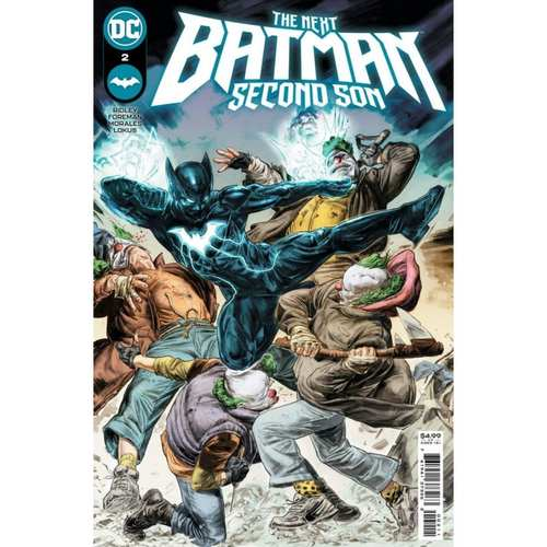 NEXT BATMAN SECOND SON #2 (OF 4) CVR A DOUG BRAITHWAITE