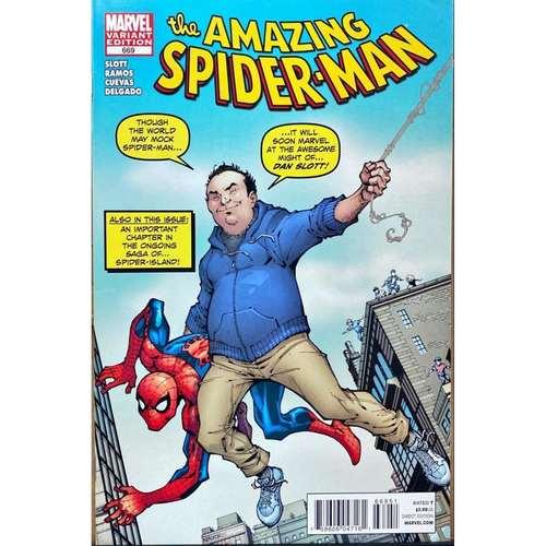 AMAZING SPIDER-MAN #669