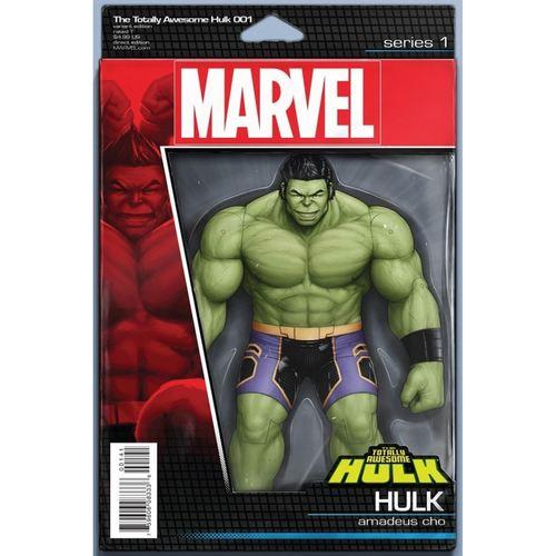 THE TOTALLY AWESOME HULK #1 ACTION FIGURE VARIANT
