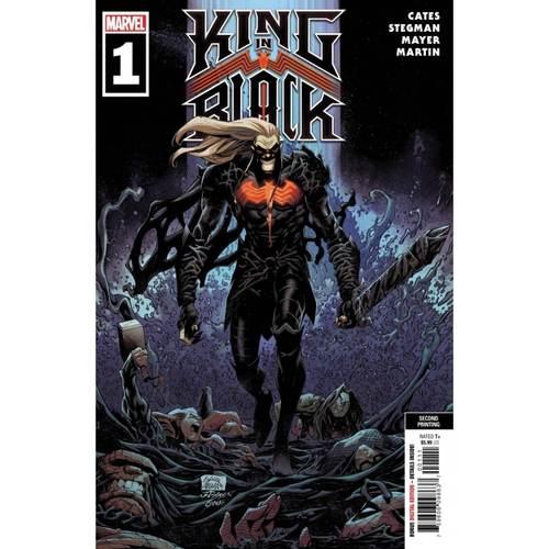 KING IN BLACK #1 (OF 5) 2ND PTG STEGMAN VAR