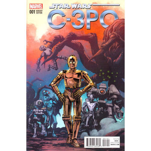 STAR WARS SPECIAL: C-3PO #1 - INCENTIVE REILLY BROWN VARIANT