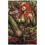 HARLEY QUINN & POISON IVY 6 OF 6 CARD STOCK POISON IVY M