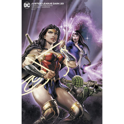 JUSTICE LEAGUE DARK 20 CLAYTON CRAIN VAR ED