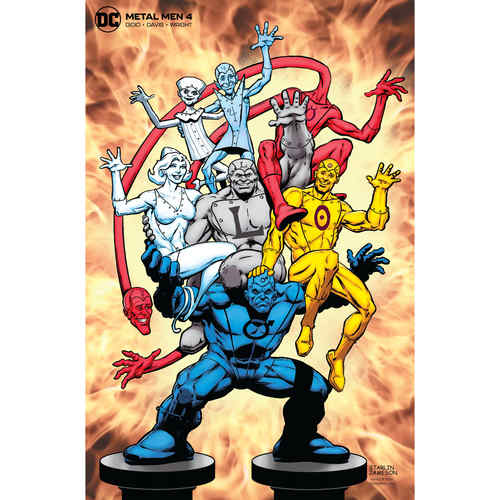 METAL MEN 4 OF 12 JIM STARLIN VAR ED