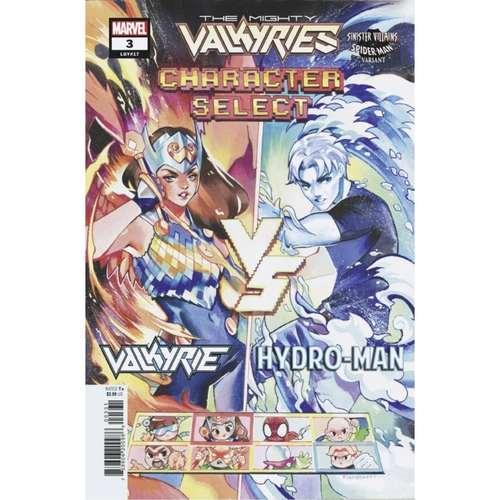 MIGHTY VALKYRIES #3 (OF 5) GONZALES SPIDER-MAN VILLAINS VAR