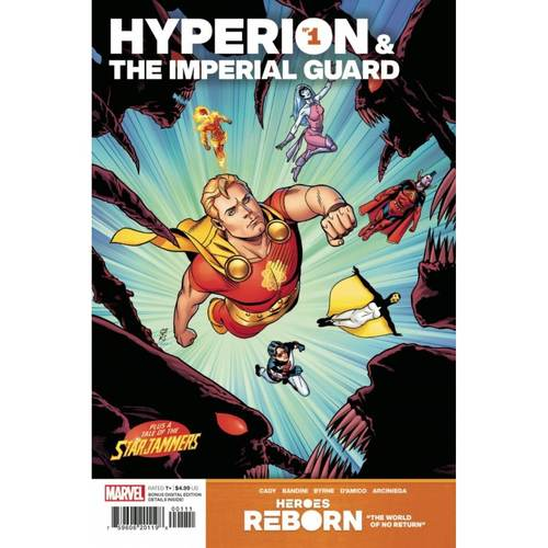 HEROES REBORN HYPERION AND IMPERIAL GUARD #1