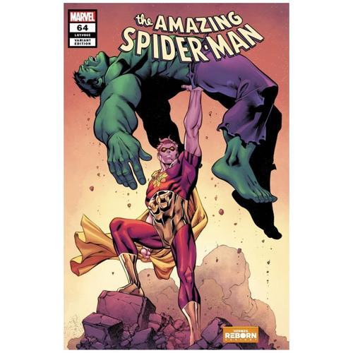 AMAZING SPIDER-MAN #64 PACHECO REBORN VAR